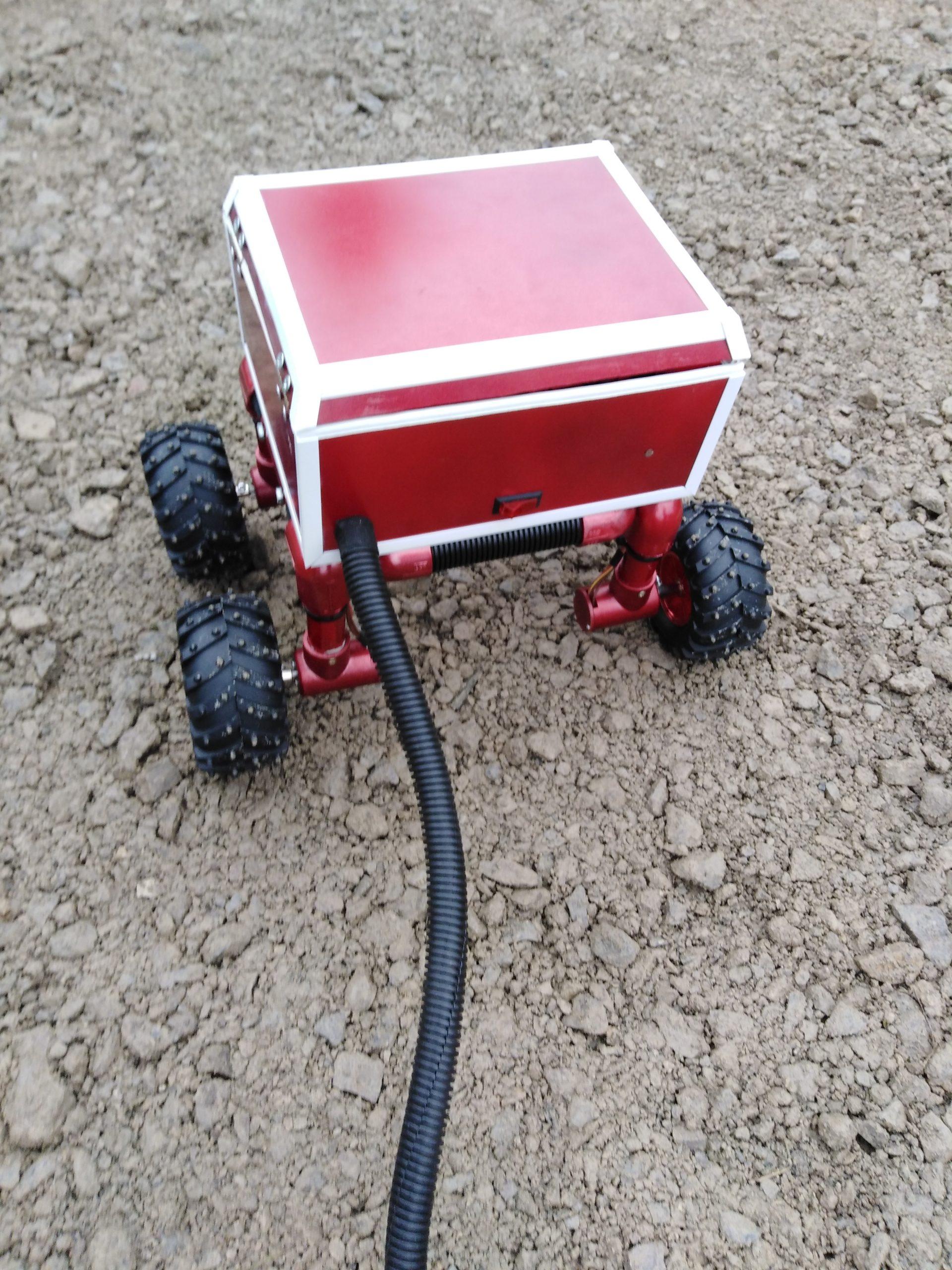 Testy robota pożarniczego 2